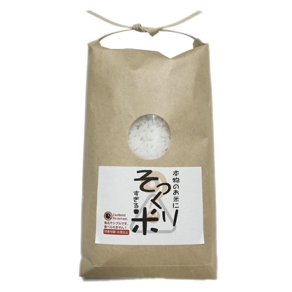 食品サンプル パーツ 工作用 本物のお米にそっくり過ぎる米 300g