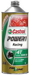 Castrol カストロール POWER1 RACING 4T 10W-50 1L缶