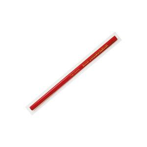 シンワ 工事用鉛筆型クレヨン赤3本 78440