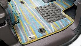 HONDA ホンダ 純正 NBOX N-BOX エヌボックス フロアカーペットマット デザインタイプ/助手席スーパースライドシート 2017.8〜仕様変更 08P16-PA1-010 | JF3 JF4 NBOXカスタム N-BOXカスタム Nボックス フロアマット 車種別 カーマット 床 車 高品質 交換 フロア カー マット