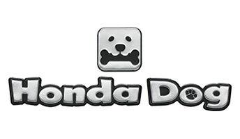 メール便可 HONDA ホンダ 純正 CIVIC typeR シビック タイプR ペットエンブレム Honda Dogデザイン 2017.7〜仕様変更 08Z41-E9G-000A