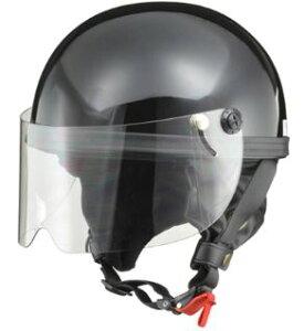 LEAD リード工業 HARVE HS-2 ハーフヘルメット ブラック   バイク ハーフ ヘルメット ヘルメ レディース 原付 かっこいい おしゃれ シールド カバー 開閉 バイク用品 交換 おすすめ リード あご紐