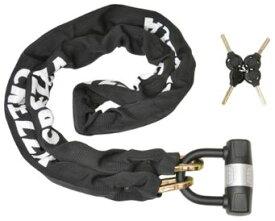 LEAD リード工業 CREZZA-V LC-400A チェーンロック | ロック バイク カギ 鍵 おすすめ スペアキー 人気 バイク用品 盗難防止 セキュリティ リード 交換 盗難 対策 防犯 かっこいい ブラック ツーリング 駐車 駐輪 チェーン ポイント消化