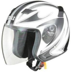 LEAD リード工業 STRAX SJ-9 ジェットヘルメット ホワイト Lサイズ   ジェット ヘルメット ヘルメ バイク 原付 二輪 メンズ レディース シールド かっこいい インナー あごひも ワンタッチ 交換 白