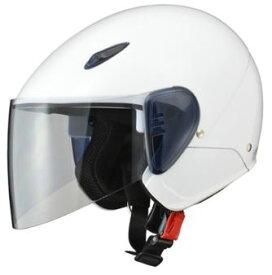 LEAD リード工業 SERIO RE-35 セミジェットヘルメット ホワイト | ジェット ヘルメット ヘルメ バイク 原付 メンズ レディース シールド かっこいい インナー あごひも ワンタッチ 交換 ホワイト 白 軽量 内装 バイク用品 リード RE35 UVカット ポイント消化