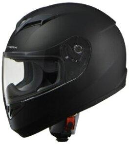 LEAD リード工業 STRAX SF-12 フルフェイスヘルメット マットブラック Mサイズ   フルフェイス ヘルメット ヘルメ かっこいい バイク おしゃれ 原付 シールド インナー あごひも ワンタッチ 交換