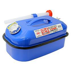 大自工業 メルテック 10Lガソリン携行缶 ブルー FZD-10