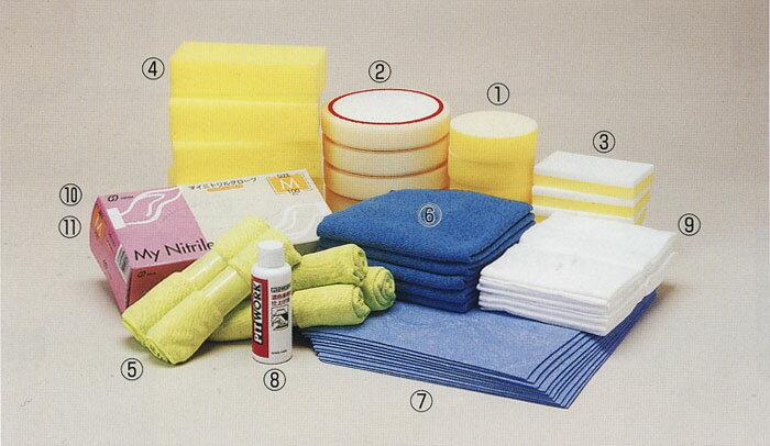 NISSAN/日産PITWORK/ピットワーク!外装関連!5years coat 関連商品!(7) 洗車スイスイクロス(300×300 10枚/袋)【KF960-43001】