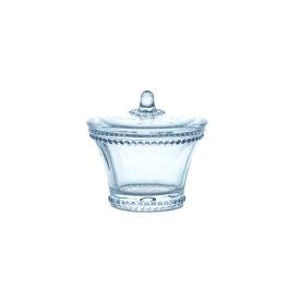 グラスポット ガラス 直径9.5 H9cm | キャンディ キャンディー ポット グラスジャー ガラス ジャー キャニスター 瓶 ビン 保存容器 キッチン用品 保存瓶 ガラス保存容器 アンティーク 調味料容器 おしゃれ