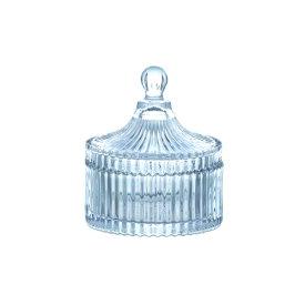 コットンポット ガラス 直径10.5 H12cm | コットン ポット グラスジャー ガラス ジャー キャニスター 保存容器 キッチン用品 ガラス保存容器 アンティーク 調味料容器 おしゃれ シンプル クリア