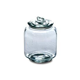 ピーナッツジャー No.3 ガラス W16.5 D16.5 H23cm | ピーナッツ ジャー キャンディ キャンディー クッキー お菓子 グラスジャー ガラス ジャー キャニスター 瓶 ビン 保存容器 保存瓶 ガラス保存容器 アンティーク おしゃれ