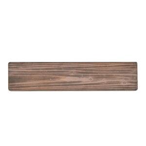 シェルフボード ブラウン 杉 W90 D20 H1.5cm | シェルフボード 壁面収納 シンプル おしゃれ かわいい ナチュラル 雑貨 本立て 空間 素材 木製 ウッド 家具 インテリア 自然 女子力 フォレスト 天然