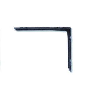 アイアンブラケット L ブラウン キャストアイアン W4 D20 H15.5cm   ブラケット ガーデン プチリフォーム 園芸 棚受け 雑貨 マーク DIY アンティーク調 クラシカル 上品 収納 ディスプレイ こだわ