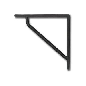 ブラケット SS ブラック アイアン W1 D10.5 H10.5cm   ブラケット ガーデン プチリフォーム 園芸 棚受け 雑貨 マーク DIY アンティーク調 クラシカル 上品 収納 ディスプレイ こだわり キッチン 小物