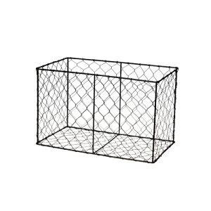 レクトボックス アイアン W32 D18 H20cm | ワイヤー バスケット キッチン 小物入れ 収納 BOX ボックス ランドリー 洗濯 おもちゃ入れ バスケット かご カゴ 籠 小物整理 おしゃれ かっこいい シン