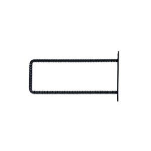 シングルブラケット リブ M アイアン W1.5 D22 H12.5cm   ブラケット ガーデン プチリフォーム 園芸 棚受け 雑貨 マーク DIY アンティーク調 アイアン 上品 収納 ディスプレイ こだわり キッチン 小