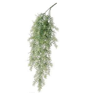 アスパラガス・スプレンゲラー PE ワイヤー L85cm   造花 アートフラワー フェイク グリーン 観葉植物 寄せ植え 飾り アンティーク ディスプレイ インテリア 北欧 おしゃれ 玄関 リビング ガー