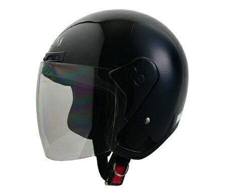 LEAD リード工業 ジェットヘルメット CROSS CR-720 ブラック