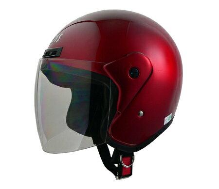 LEAD リード工業 ジェットヘルメット CROSS CR-720 キャンディーレッド
