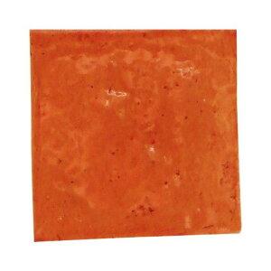 SPICE スパイス SPICE OF LIFE クレイタイル ライトブラウン 10cm角 MKCS007   色むら 凸凹 手作り感 ナチュラルテイスト 陶器 タイル
