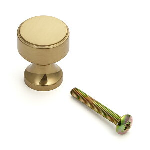 SUGATSUNE スガツネ工業 真鍮つまみ KHE111型 100-012-740 KHE111-22PB   つまみ シンプル おしゃれ 黄銅 鏡面研磨 クリアー 仕上
