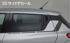 SUZUKI スズキ 純正 SWIFT スイフト サイドデカール グレー [2016.12〜仕様変更][ 99230-52R20 ]