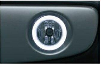 SUZUKI スズキ HUSTLER ハスラー スズキ純正 リングイルミ付きフォグランプ(12V35W/H8)LEDリング 2015.7〜次モデル
