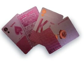 TRI PLAYING CARDS PINK SLW147 | トランプ カード カードゲーム ゲーム プラスチック ピンク プレイングカード PVC素材 ポーカー カジノ 大富豪 マジック 手品 テーブル ゲーム クリスマス お正月 年末年始 パーティー イベント 雑貨 おもちゃ ホビー 家族 友達