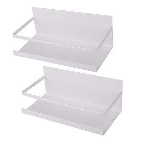 2個セット 浴室 マグネット ラック バスルーム 台所にあっても便利 25×12×9 送料無料