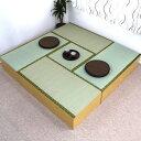 ユニット畳 高床式 高床式ユニット畳 畳収納 畳ボックス 置き畳 い草 イ草 日本製 激安セット販売 IS-SET5NA