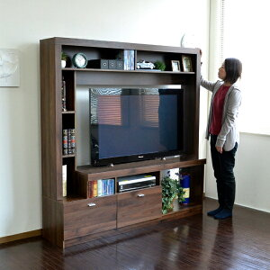 テレビ台ハイタイプ壁面家具リビング壁面収納55インチ対応TV台テレビラックゲート型AVボード165cm幅PD015北欧インダストリアルインテリアブルックリン西海岸モダンヴィンテージカリフォルニアスタイル送料無料