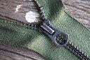 Vintage スコービル グリッパージッパー #5 Black Scovill Gripper Black Green