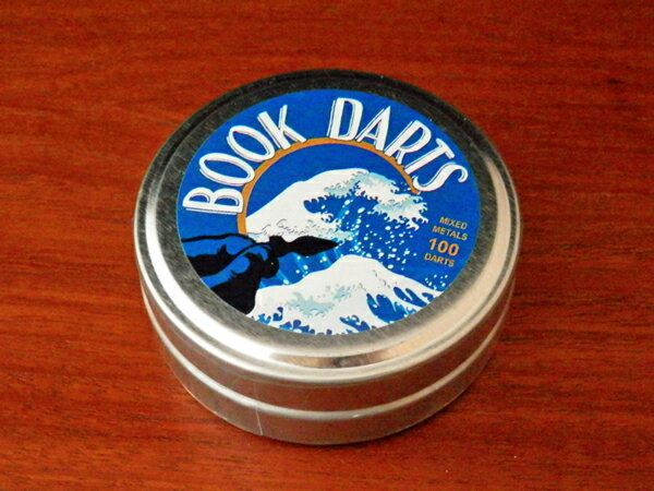 【BOOK DARTS】ブックダーツ 75個ミックス HOKUSAI缶 スペシャルバージョン