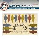 ブックダーツ ミックス 15個入り BOOK DARTS 金属 ブロンズ ゴールド シルバー 真鍮 ステンレス ブックマーカー ブッ…