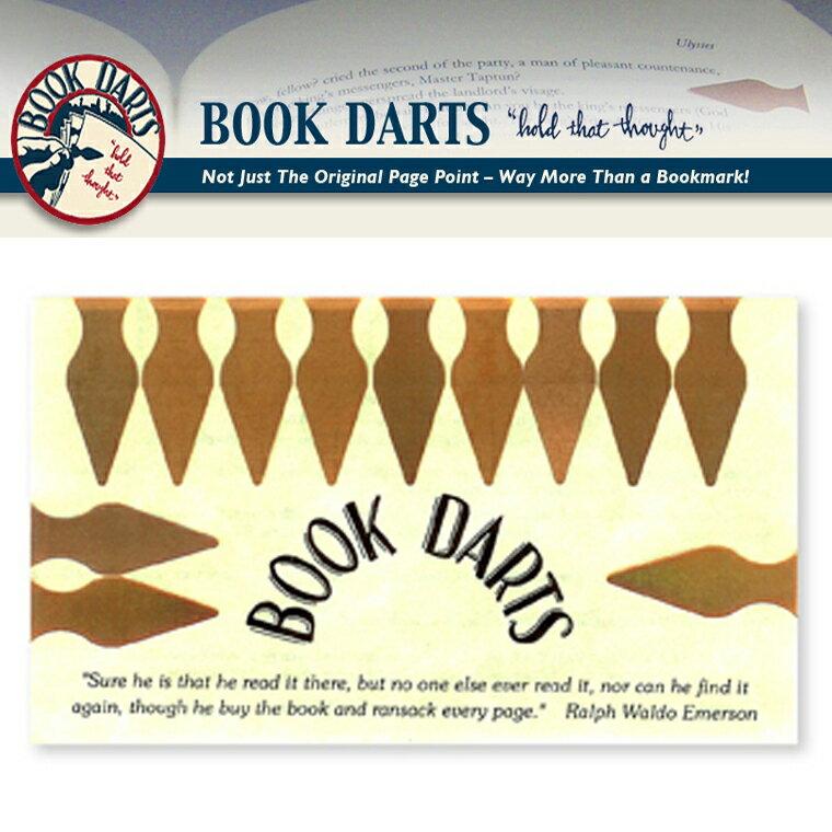 【BOOK DARTS】ブックダーツ 12個入り ブロンズ