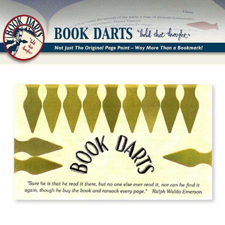 【BOOK DARTS】ブックダーツ 12個入り ゴールド