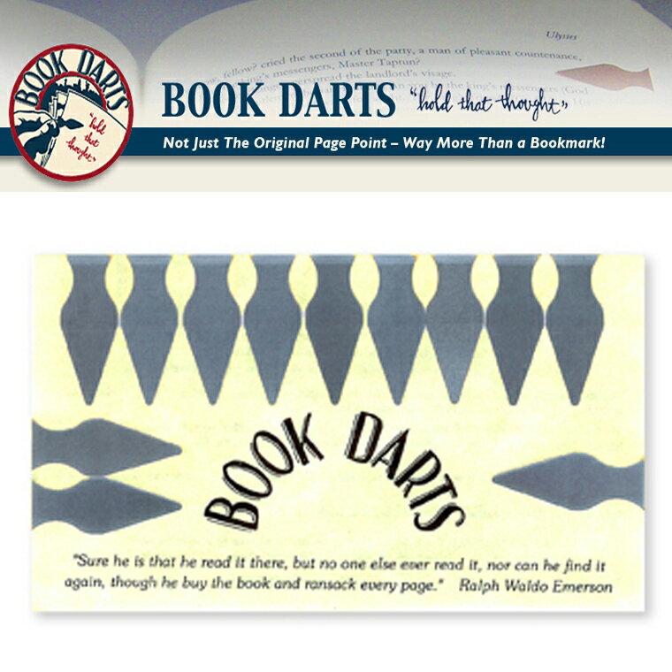【BOOK DARTS】ブックダーツ 12個入り ステンレス