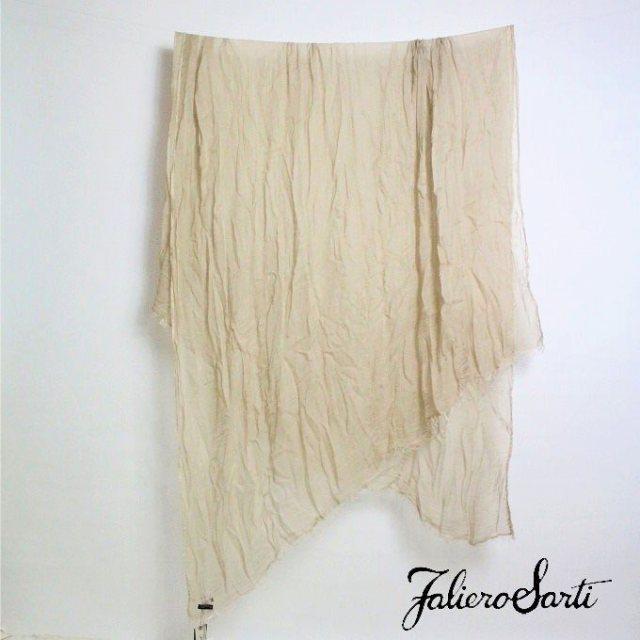 Faliero Sarti (ファリエロサルティ) Tabia/ベージュ ストール ショール【14-15AW】【select-shop】【ファッションセール】【セレクトショップ】【レディースファッション 30代 40代】