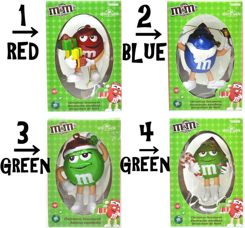 m&m's Christmas Ornament クリスマスオーナメント 4種類
