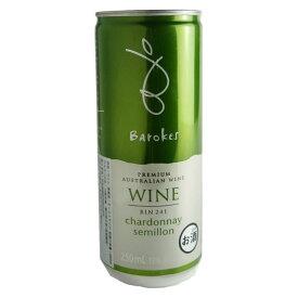 バロークス プレミアム 缶ワインシャルドネ・セミヨン(白ワイン)