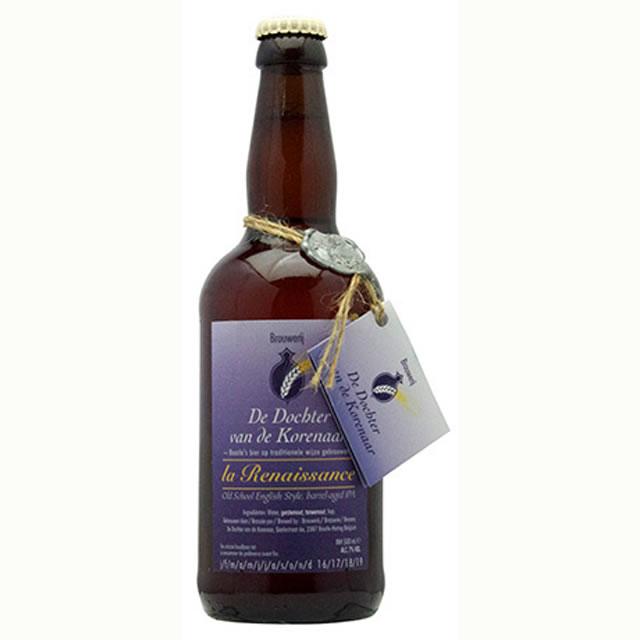 ルネサンス・シルバー ドクトル・ヴァン・ドゥ・コールナール 500ml(ベルギービール 6本セット)【納期:3日〜約2週間後に発送】