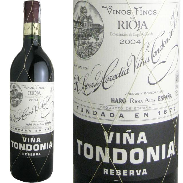 トンドニア・ティント・レセルヴァ [2005] ロペス・デ・エレディア・ヴィニャ・トンドニア