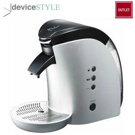 【アウトレット】デバイスタイル deviceSTYLEブルーノパッソ Brunopasso60mm レギュラーコーヒー用カフェポッド・コーヒー粉対応コーヒーマシンP-60-S【送料無料】