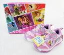 【送料無料】ディズニープリンセス ラプンツェル フラッシュスニーカー (ピンク) 光る靴 キッズシューズ プレゼント …