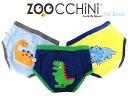 【送料無料】ZOOCCHiNi ズッキーニ オーガニックコットン トレーニングパンツ 3枚組 (恐竜の仲間/男児) ベビー用品 赤…