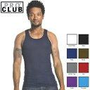 PRO CLUB (プロクラブ) 【全8色】【S〜XL】[あす楽] PROCLUB Men's Athletics Shirt リブ編みタンクトップ(1枚のみ)…