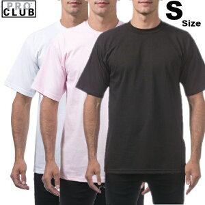 PRO CLUB (プロクラブ) 6.5オンス[Ounce]【全2色】【Sサイズ】[S〜7XLまでございます]HEAVY WEIGHT(ヘビーウェイト) PROCLUB 無地/プレーン 半袖Tシャツ(S/S TEE)小さいサイズ大きいサイズスノボー ウェア