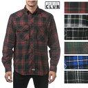 【151】PRO CLUB (プロクラブ) Men's L/S Flannel Button Shirt【全6色】【フラネルシャツ]チェック柄 L/Sシャツ PROCLUB 長袖(ロングスリーブ) 小さいサイズ 大きいサイズ メンズ ネルシャツ メキシカン ストリート系 ヒップホップ 作業着LL 2L 3L 4L 5L