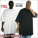 PRO CLUB (プロクラブ) 【全2色】6.5オンス【7XL】[M〜5XLもございます]HEAVY WEIGHT(ヘビーウェイト)PROCLUB 無地/プレーン 半袖Tシャツ(S/S TEE)大き