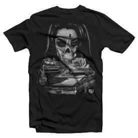 Dyse One Sinister Tee black【ダイスワン】プリントTシャツ【メキシカン/チカーノ/BKスタイル】Tシャツロス S/STシャツ バックプリントTシャツ ヒップホップ ストリート メンズTシャツ 半袖Tシャツ大きいサイズメンズ Tシャツ L LL 3L 4L